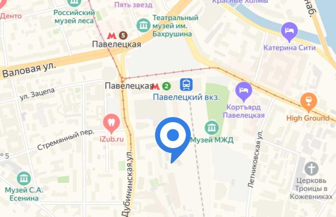 """Обложка объекта """"у Павелецкого вокзала"""""""