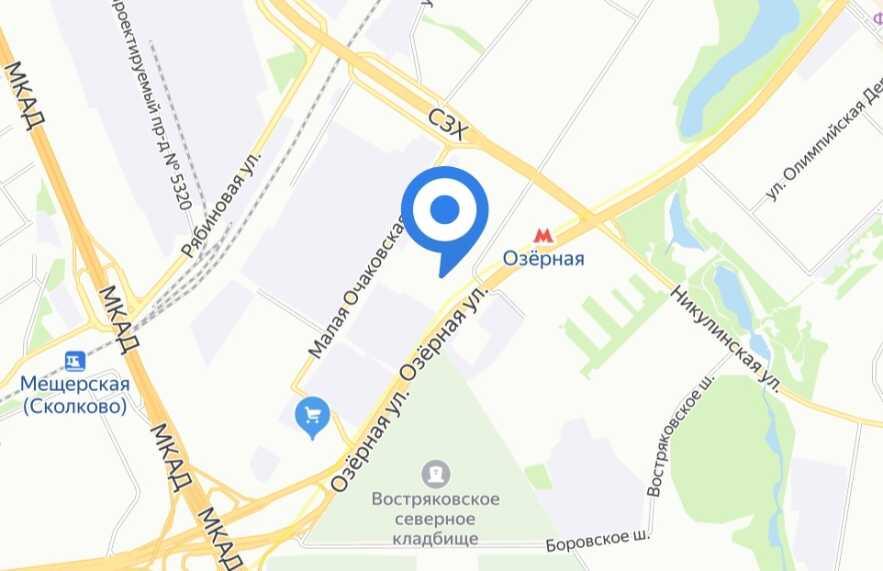 """Обложка объекта """"в Очаково-Матвеевском"""""""