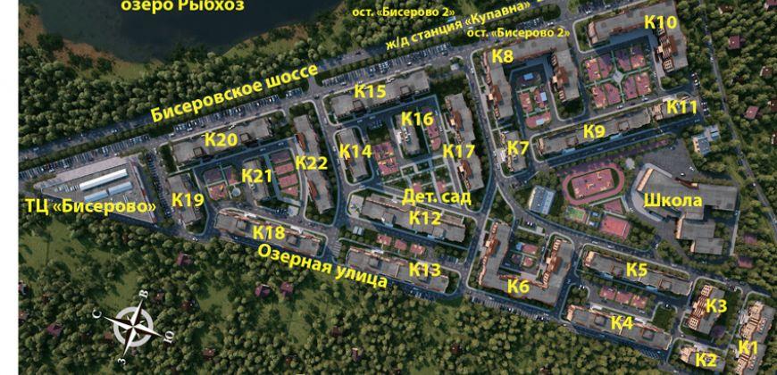 Так выглядит Жилой комплекс Экопарк Бисерово - #1226487373