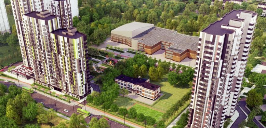 Так выглядит Жилой комплекс Квартал на Никулинской - #645429076