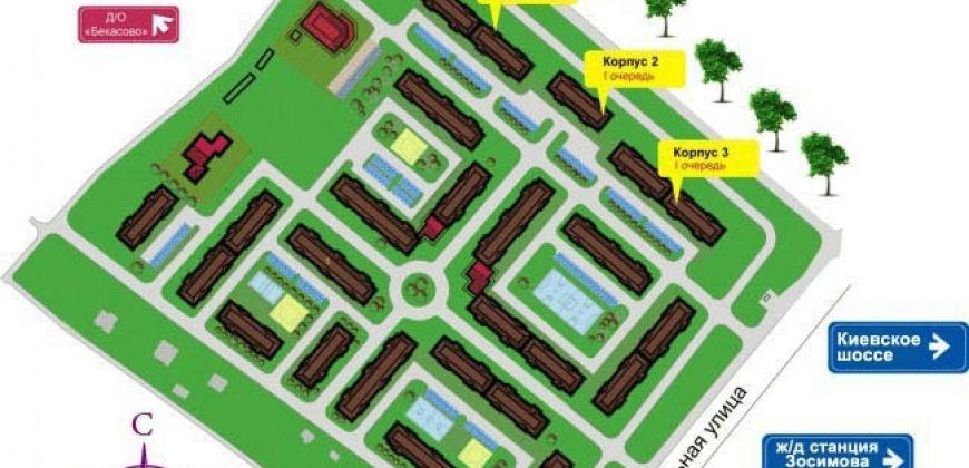 Так выглядит Жилой комплекс Новый квартал Бекасово - #870224066