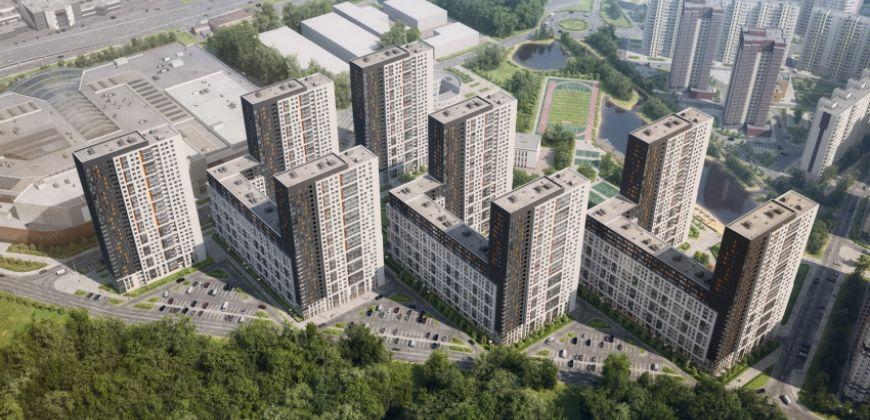 Так выглядит Жилой комплекс Оранж Парк - #796650030