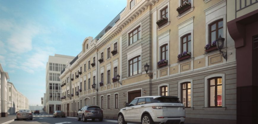Так выглядит Жилой комплекс Palazzo Остоженка, 12 - #1185452637