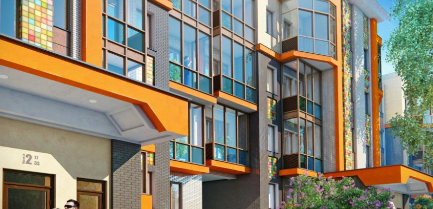 Так выглядит Жилой комплекс Smart-квартал Аккорд (Новые Жаворонки) - #1475408726