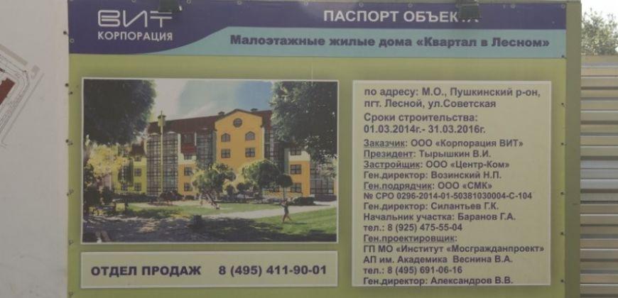 Так выглядит Жилой комплекс в Лесном - #2131784317