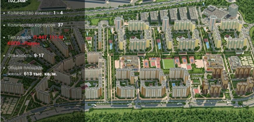 Так выглядит Жилой комплекс Восточное Бутово - #888919702