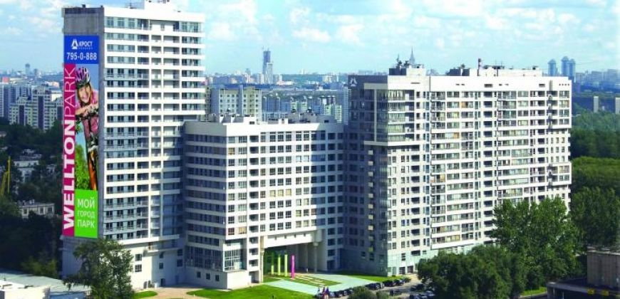 Так выглядит Жилой комплекс Wellton Park (Веллтон Парк) - #936419073