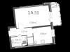 """Схема квартиры в проекте """"126 квартал""""- #1804658921"""