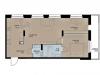 """Схема квартиры в проекте """"Аалто""""- #681354709"""