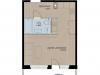 """Схема квартиры в проекте """"Аалто""""- #43466807"""