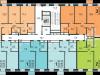 """Схема квартиры в проекте """"AFI Residence Paveletskaya""""- #98430752"""