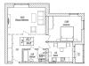 """Схема квартиры в проекте """"Акваполис""""- #706321548"""