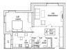 """Схема квартиры в проекте """"Акваполис""""- #838923269"""