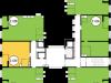 "Схема квартиры в проекте ""Акварели""- #130371729"