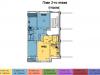"""Схема квартиры в проекте """"Анискино""""- #796360478"""