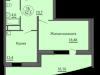 """Схема квартиры в проекте """"Антей""""- #1094012421"""