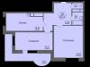 """Схема квартиры в проекте """"Антей""""- #1341317403"""