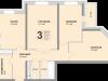 "Схема квартиры в проекте ""Апельсин""- #302687969"