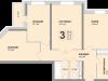"Схема квартиры в проекте ""Апельсин""- #1612790328"