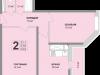 "Схема квартиры в проекте ""Апельсин""- #1961695730"