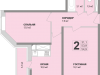 "Схема квартиры в проекте ""Апельсин""- #829387330"