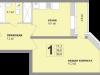 "Схема квартиры в проекте ""Апельсин""- #217067637"