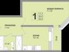 "Схема квартиры в проекте ""Апельсин""- #781533003"