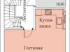 """Схема квартиры в проекте """"Арбатская слобода""""- #1261581045"""