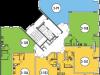 "Схема квартиры в проекте ""Архимед""- #1989346101"