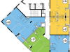 "Схема квартиры в проекте ""Архимед""- #1744084603"
