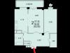 """Схема квартиры в проекте """"Аристье""""- #907616088"""