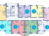 """Схема квартиры в проекте """"Авеню""""- #38046068"""