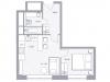 """Схема квартиры в проекте """"Balance""""- #165741150"""