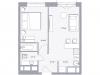 """Схема квартиры в проекте """"Balance""""- #99164822"""