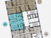"""Схема квартиры в проекте """"Balchug Residence (Балчуг Резиденц)""""- #1817744904"""
