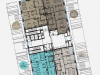 """Схема квартиры в проекте """"Balchug Residence (Балчуг Резиденц)""""- #1762806365"""