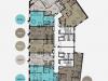 """Схема квартиры в проекте """"Balchug Viewpoint (Балчуг Вьюпойнт)""""- #1705921111"""