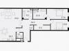 """Схема квартиры в проекте """"Balchug Viewpoint (Балчуг Вьюпойнт)""""- #1867928279"""