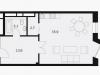 """Схема квартиры в проекте """"Balchug Viewpoint (Балчуг Вьюпойнт)""""- #416107473"""