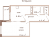 """Схема квартиры в проекте """"Банный""""- #1559267385"""