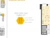 """Схема квартиры в проекте """"Баркли Медовая Долина""""- #1900603796"""
