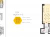 """Схема квартиры в проекте """"Баркли Медовая Долина""""- #1999813755"""