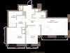 """Схема квартиры в проекте """"Barkli Residence (Баркли Резиденс)""""- #443981782"""