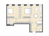 """Схема квартиры в проекте """"Bauman house""""- #1472990070"""