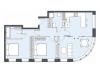 """Схема квартиры в проекте """"Bauman house""""- #891530767"""