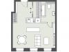 """Схема квартиры в проекте """"Bauman house""""- #1308944169"""