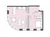 """Схема квартиры в проекте """"Bauman house""""- #1188213563"""