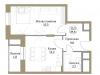 """Схема квартиры в проекте """"Большая Семерка""""- #2036774186"""