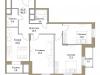"""Схема квартиры в проекте """"Большая Семерка""""- #1123869752"""