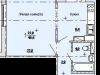 """Схема квартиры в проекте """"Букино""""- #861551401"""